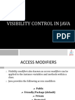 VisibilityControl in Java
