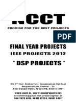 Ieee Dsp 2012-13 Projects