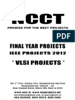NCCT - 2012 - 2013 IEEE Projects List - VLSI Projects