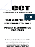 Power Electronics 2012-13 Project Titles