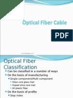 Optical Fibers Classification