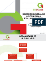 CONTRALORÍA SOCIAL PRESENTACION