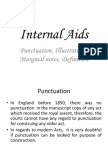 Internal aid of construction