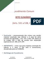 RITO SUMÁRIO