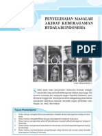 3. Penyelesaian Masalah Akibat Keragaman Budaya Di Indonesia