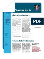 Sept Newsletter 2012
