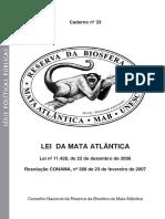 Caderno_33 RBCV_LEI DA MATA ATLÂNTICA