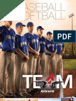 Alleson Baseball/Softball (2013)