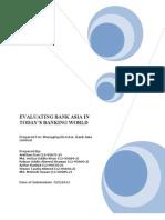 Bank Asia Report (Ijaz)