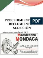 PROCEDIMIENTOS DE RECLUMIENTO Y SELECCIÓN DE PERSONAL