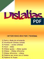 Actividades Dislalias y Disfemia