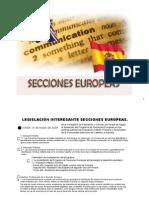 secciones europeas