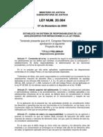 Ley 20.084-Ley Penal Adolescente-Julio2007
