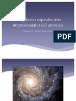 Las galaxias espirales más impresionantes del universo