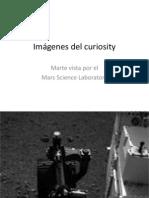 Imágenes del curiosity