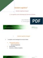 GL 4 La Logística como Estrategia de Servicio al Cliente - II (2012)