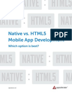 Appcelerator Whitepaper Native Html5