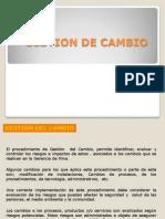Gestiondel Cambio