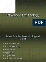 Psychopharmacology Lecture