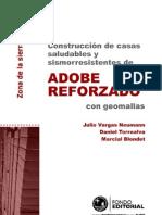Construccion de Casas Saludables y Sismoresistentes de Adobe Reforzado Con Geomalla