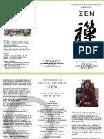 Introducción a la práctica de la meditación Zen