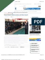 3-09-2012 EL DEBATE - Premia Roberto Sandoval esfuerzo de Policía Nayarit... Nayarit