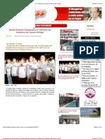 3-09-2012 Periódico Express de Nayarit - Asiste Roberto Sandoval a 5º Informe de Gobierno de Ivonne Ortega