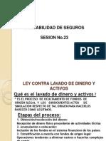 Contabilidad de Seguros Sesion No.23