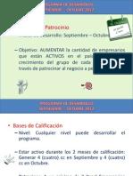 Programa de Desarrollo Sept-Dic12