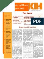 Newsletter 2012