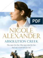 Reading Group Questions - Absolution Creek by Nicole Alexander