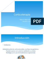 Corticoterapia PPT by Demon Felipe