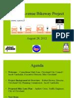 Detroit Avenue Bikeway Project