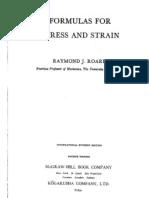 Roark - Formulas for Stress & Strain, 4th Ed