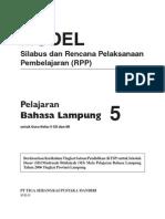 RPP Bahasa Lampung SD 5