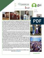 GVI Fiji Achievement Report - June, Singapore American School Water Project