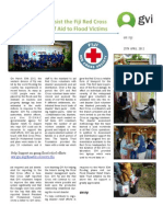 GVI Fiji Achievement Report - April, Disaster Relief Program