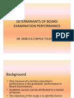 C2 Tolentino Determinants Board Tolentino