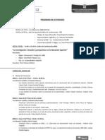 VIII Jornadas de Investigación | Popolorum 2012 | Jujuy | Argentina