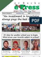 Upper Bucks Free Press • September 2012