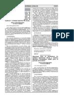 R.M. 225-2012-MINAM Aprueban Plan de Estandares de Calidad Ambiental y Limites Maximos Permibles Para El 2012-2012