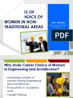 J1 Llenares Predictors of Career Choice of Women in Engineering and Architecture - ICEME Ver2