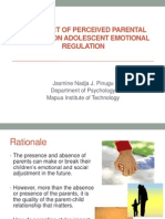 J2 Pinugu Effect of Perceived Parental Behavior on Emotional Regulation
