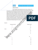 Statistics solution for Analysis of variance