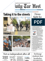 The Daily Tar Heel for September 4, 2012