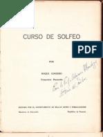 METODO de Solfeo Roque Cordero Vol 1 y 2