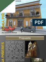 Propuesta de Restauracion Luis Eduardo Montoya