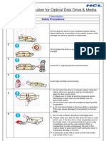 E-Manual for Do's & Dont's for Optical Disk Drive