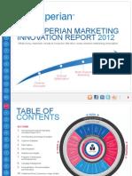 Ems 2012 Marketing-Innovation Report