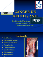 Cancer de Ano y Recto